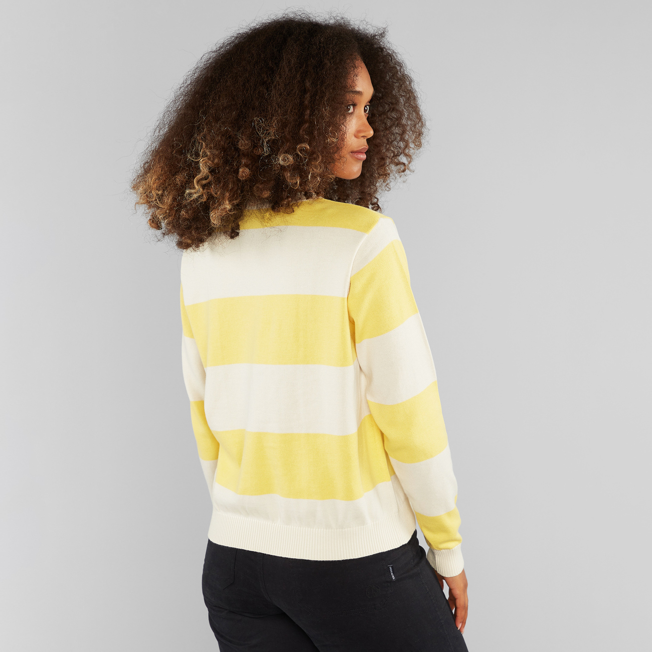 Sweater Arendal Woodstock Stripe Yellow