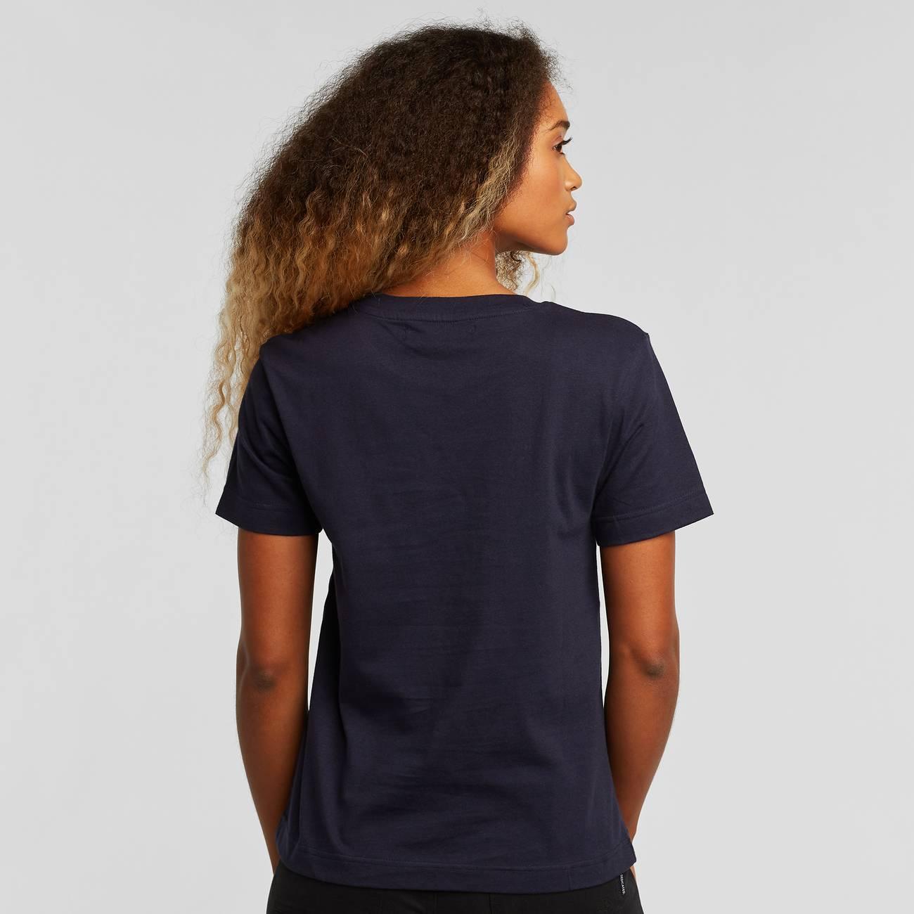 T-shirt Mysen Charlie Brown Navy