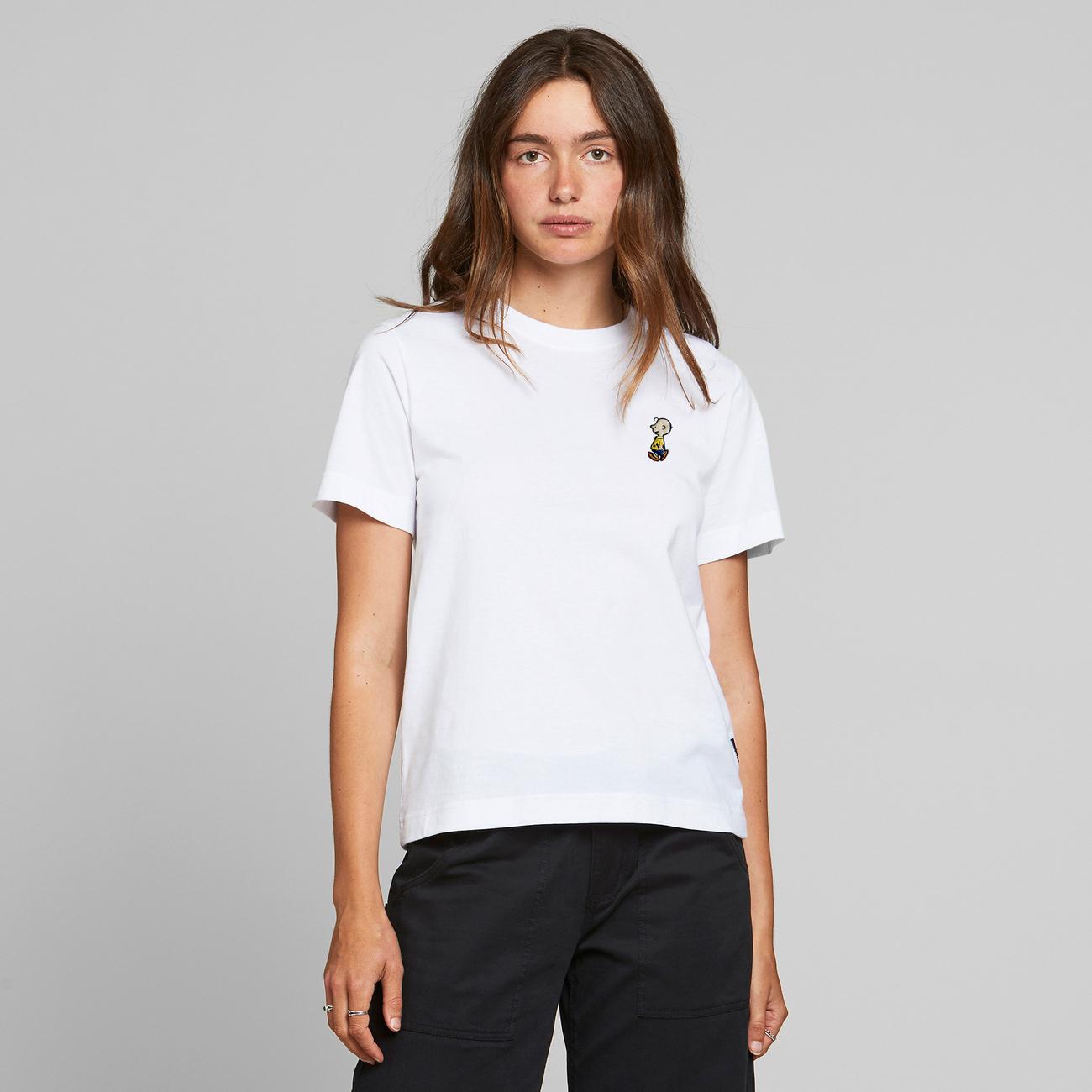 T-shirt Mysen Charlie Brown White