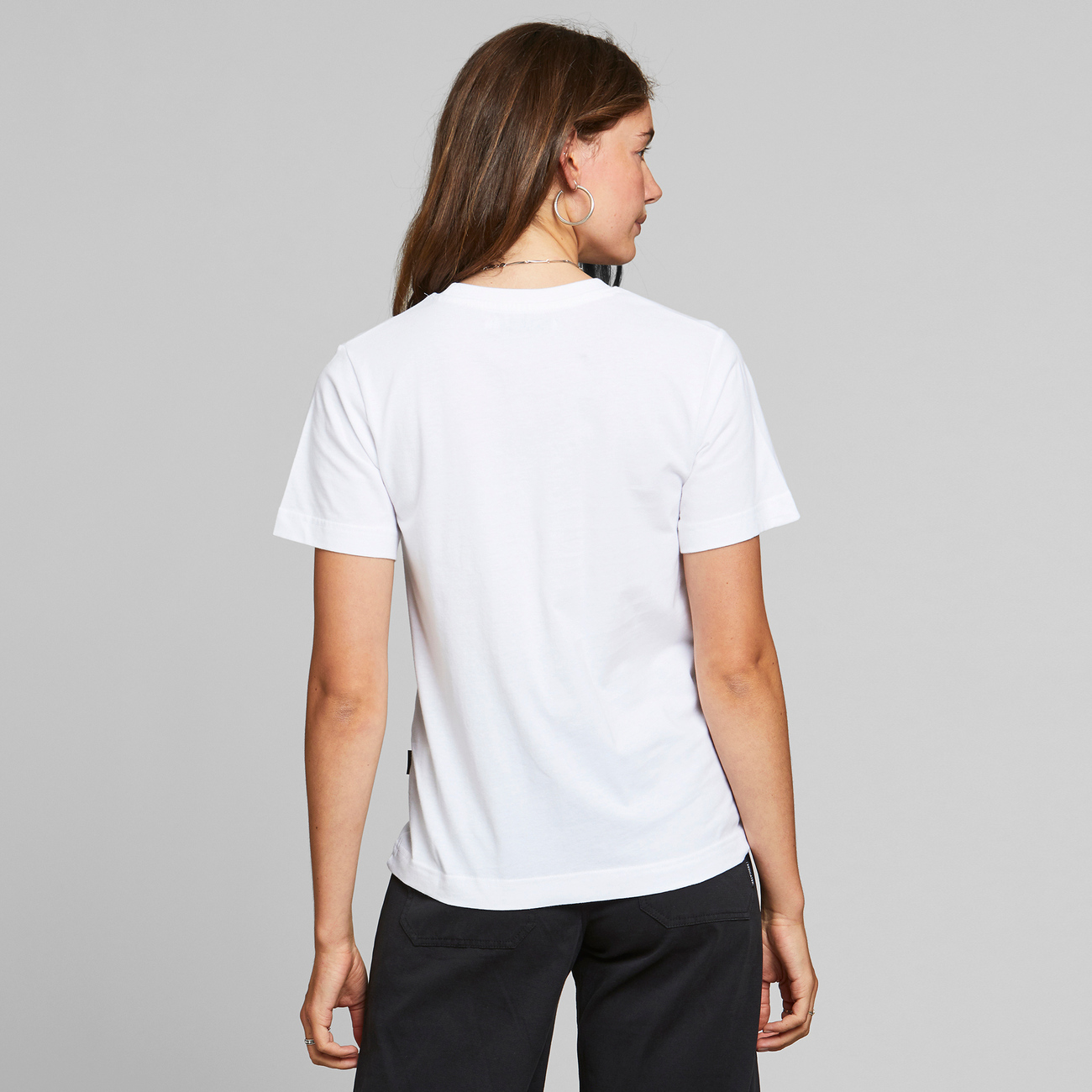 T-shirt Mysen Woodstock White