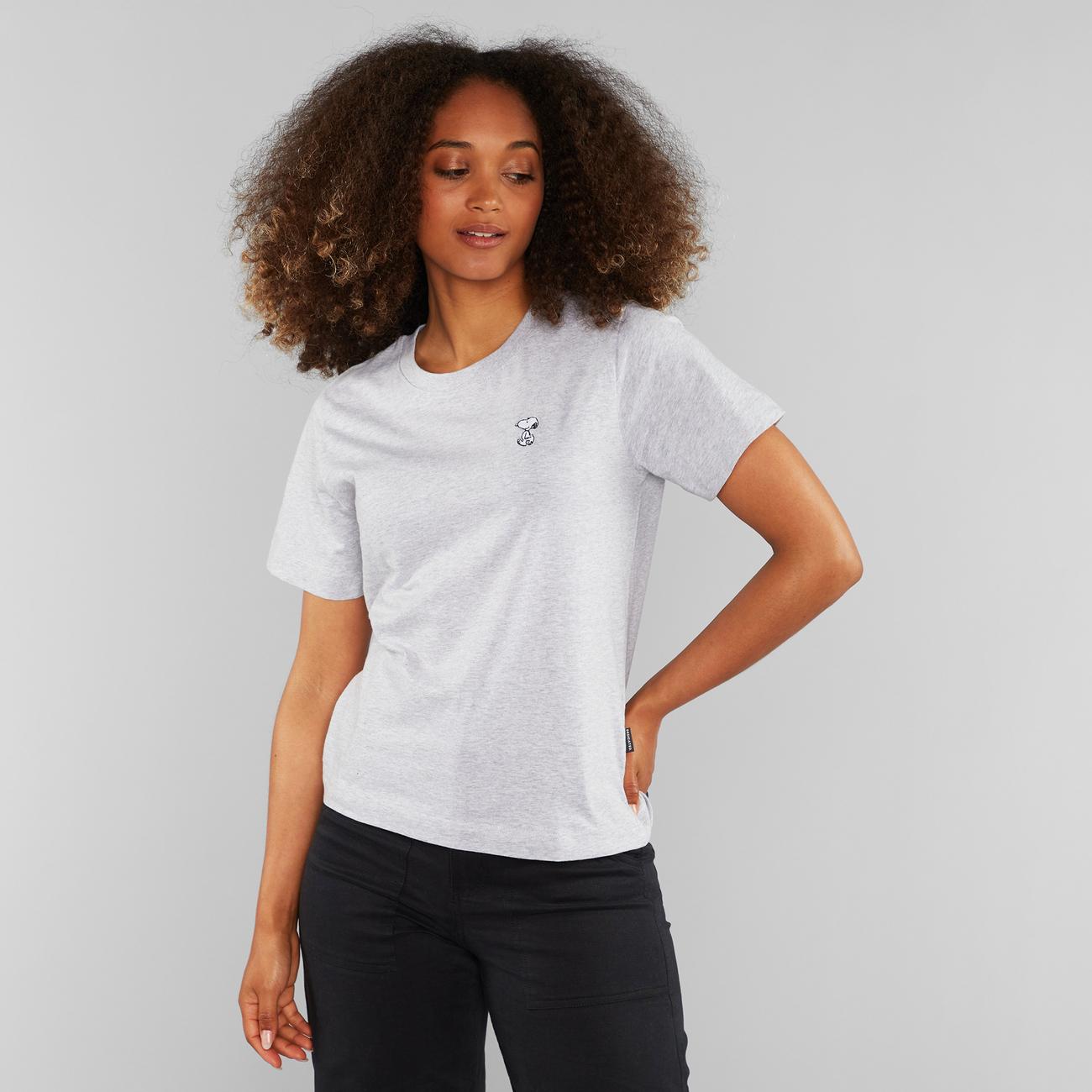 T-shirt Mysen Snoopy Grey Melange