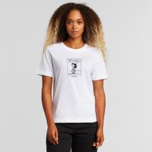 T-shirt Mysen Lucy Nobody White