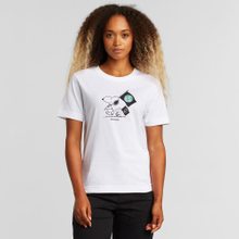 T-shirt Mysen Snoopy Flags White