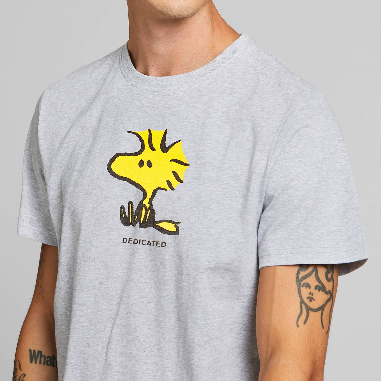 T-shirt Stockholm Woodstock Grey Melange