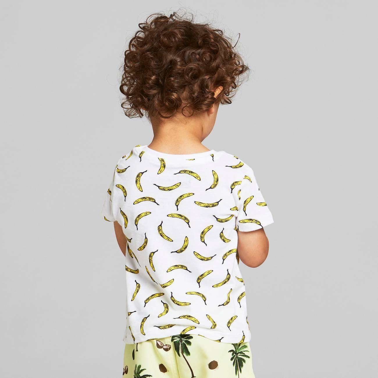 T-shirt Lillehammer Bananas White