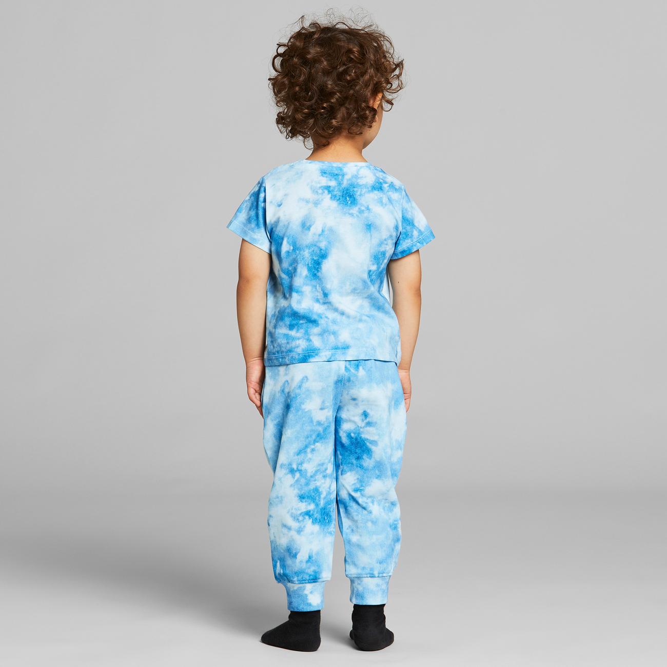 T-shirt Lillehammer Tie Dye Blue