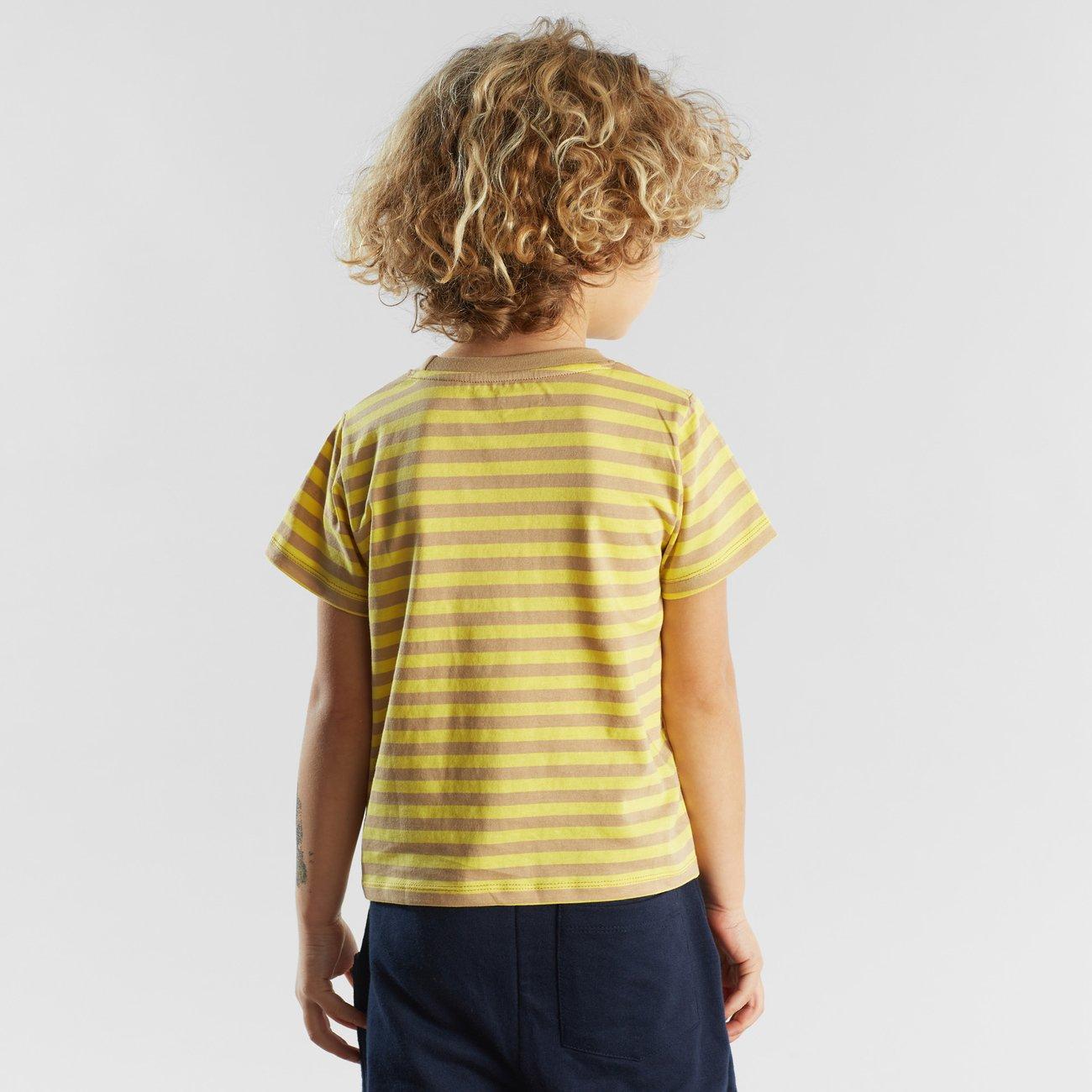 T-shirt Hamra Stripes Yellow