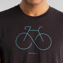 T-shirt Stockholm Biketernity Charcoal