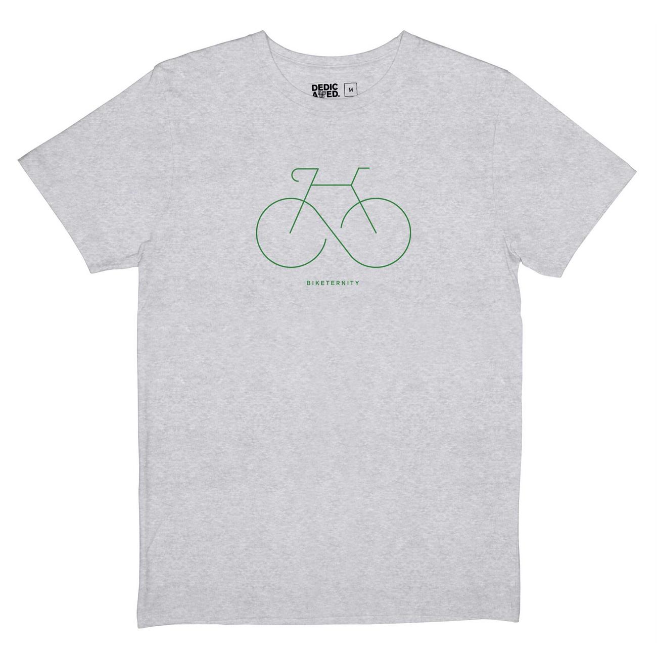 T-shirt Stockholm Biketernity Grey Melange