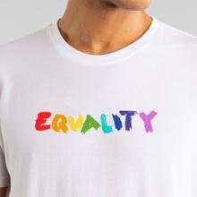 T-shirt Stockholm Equality Marker White