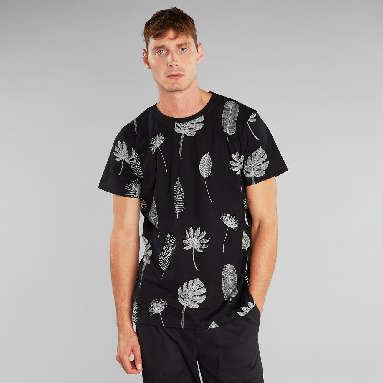 T-shirt Stockholm Tropic Leaves