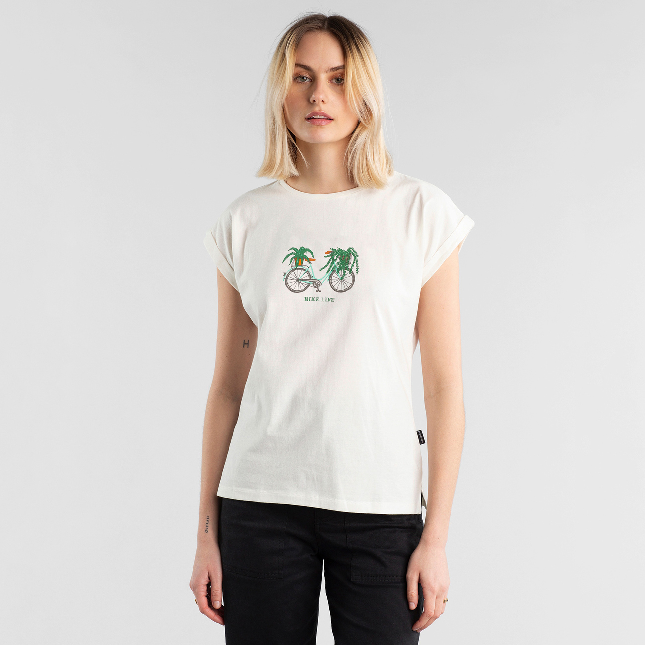 T-shirt Visby Bike Life Off-White