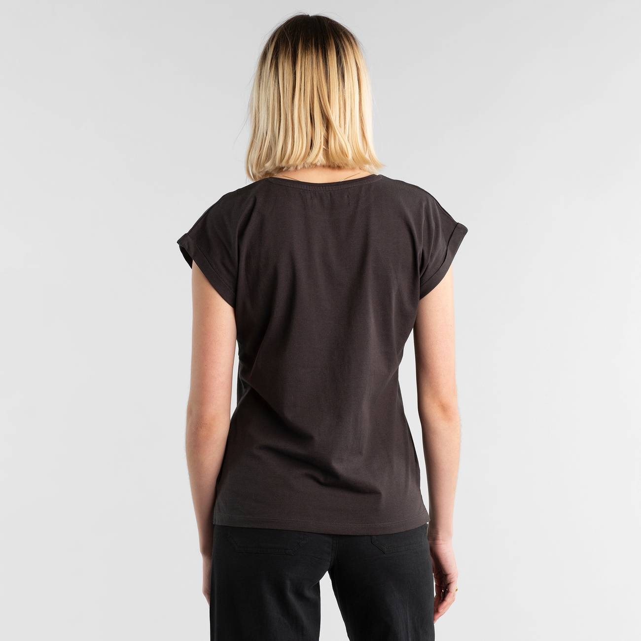 T-shirt Visby Pride Flag Charcoal