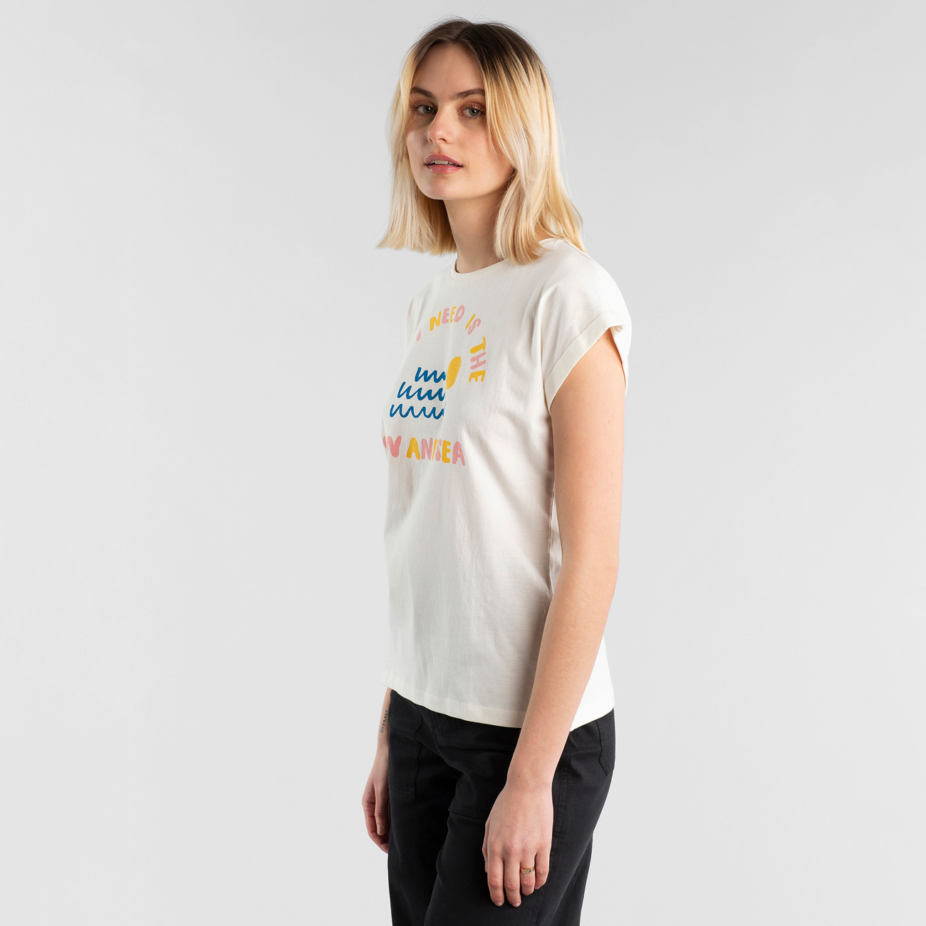 T-shirt Visby Sun and Sea Off-White