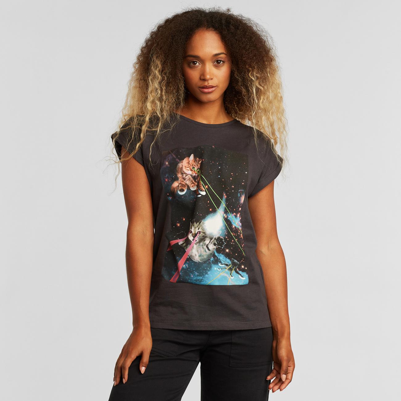 T-shirt Visby Lazer Cats