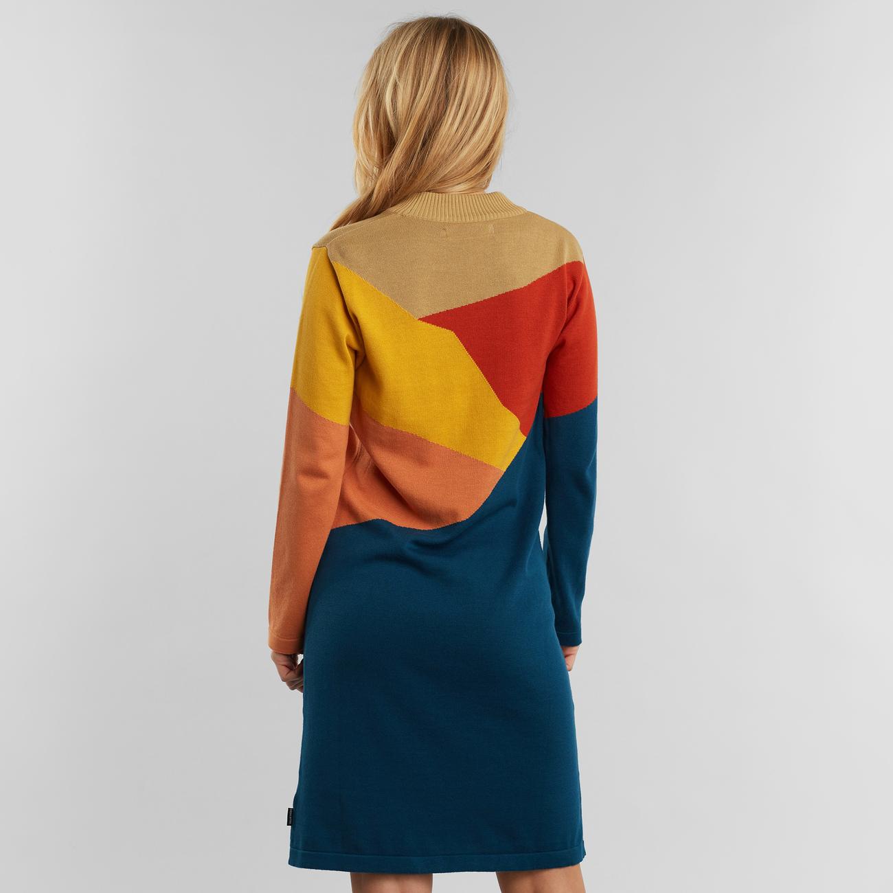 Dress Lo Cut Mountain Multi Color