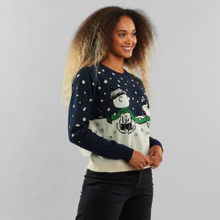 Sweater Arendal Double Scarf Navy