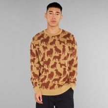 Sweater Mora Dog Shapes Beige