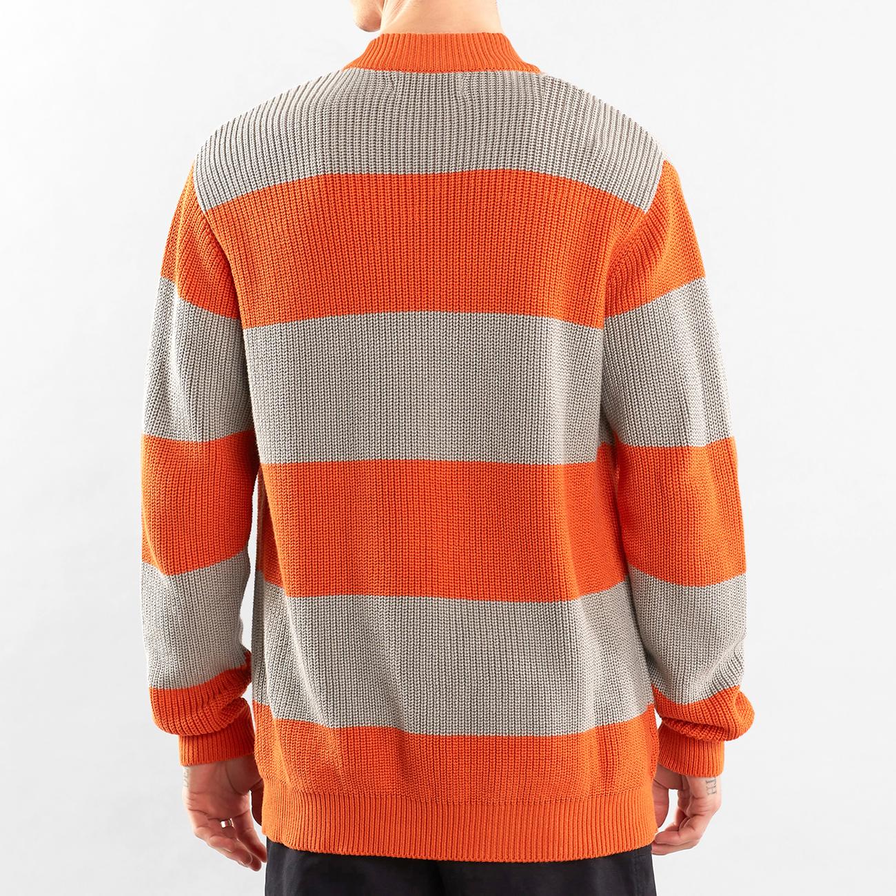 Sweater Trysil Stripe Burnt Orange