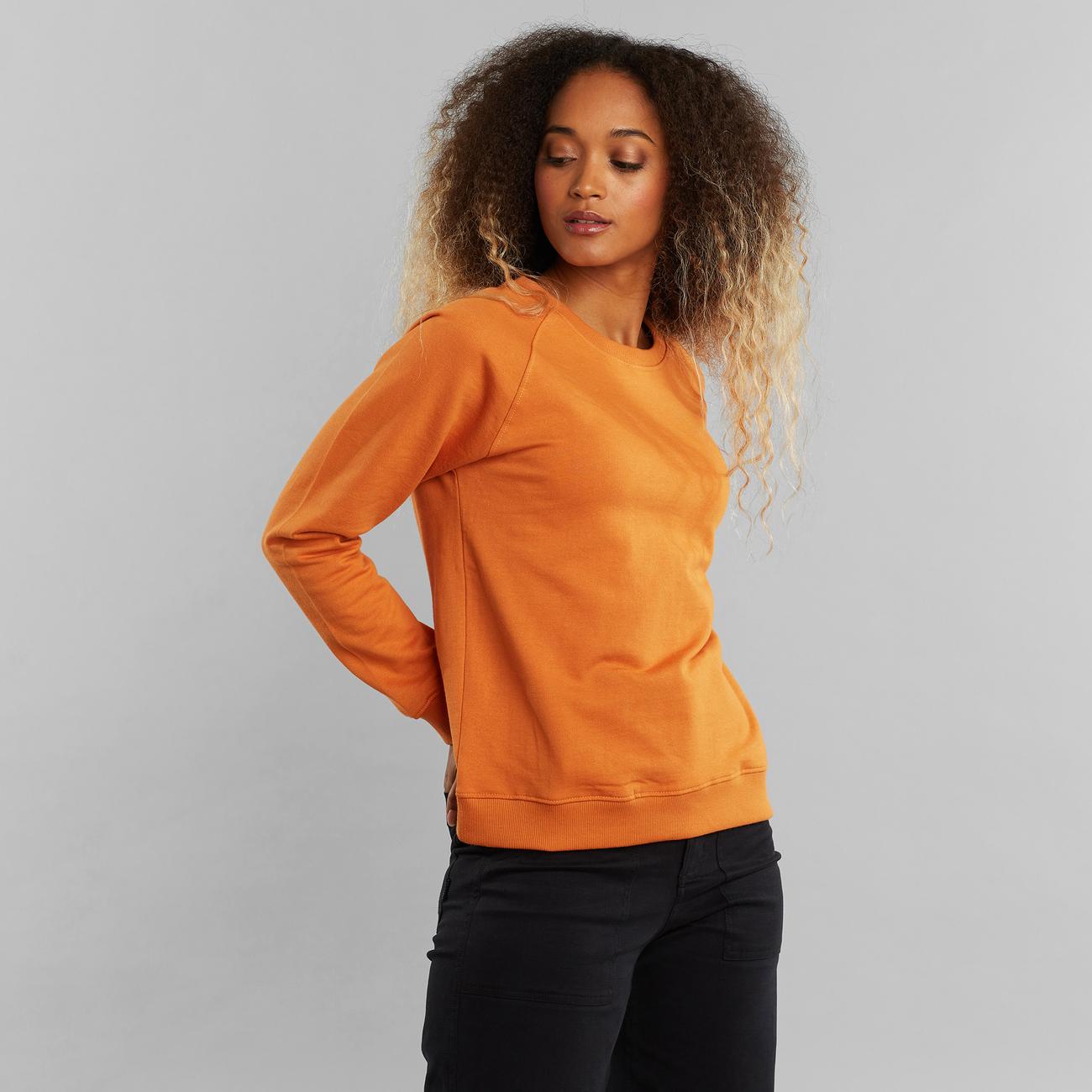 Sweatshirt Ystad Raglan Base Orange