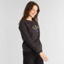 Sweatshirt Ystad Raglan Peanuts Friends Charcoal