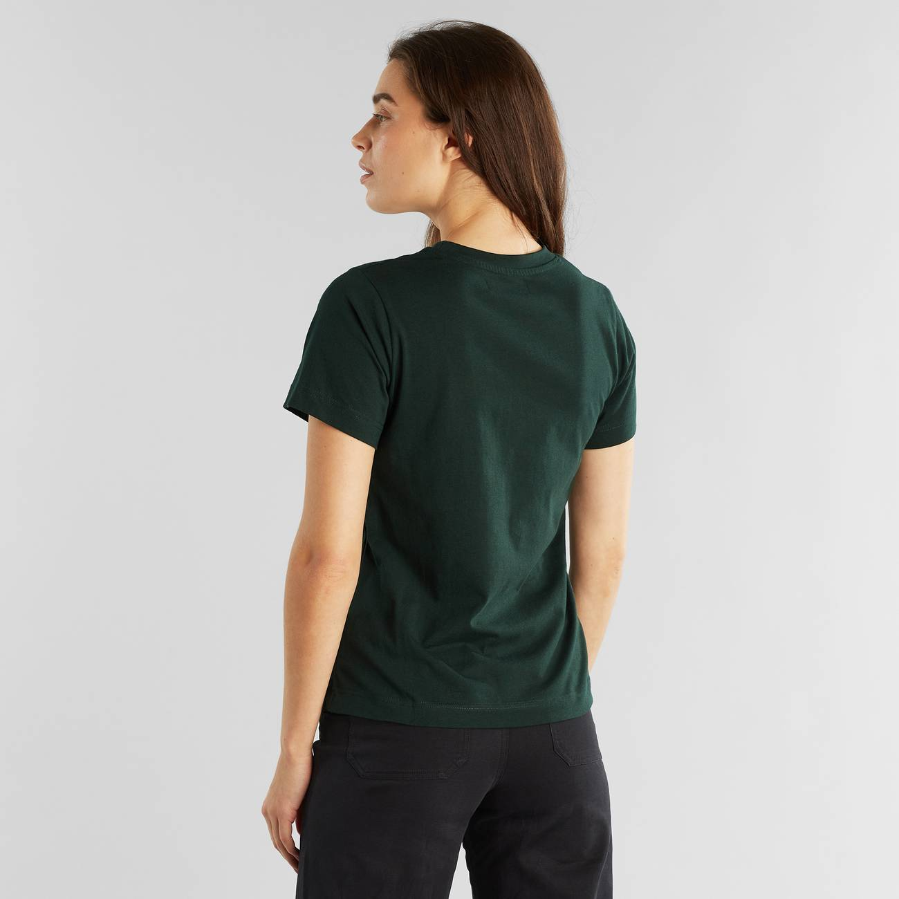T-shirt Mysen Base Dark Green