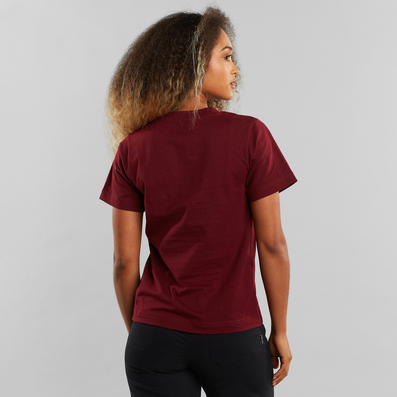T-shirt Mysen Compromise Burgundy