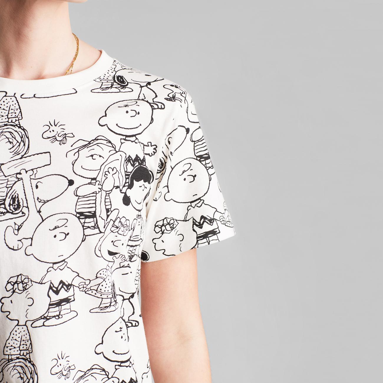 T-shirt Mysen Peanuts AOP Off-White