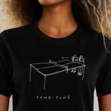 T-shirt Mysen Pong Pong Black