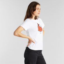 T-shirt Mysen Snoopy Puffer White