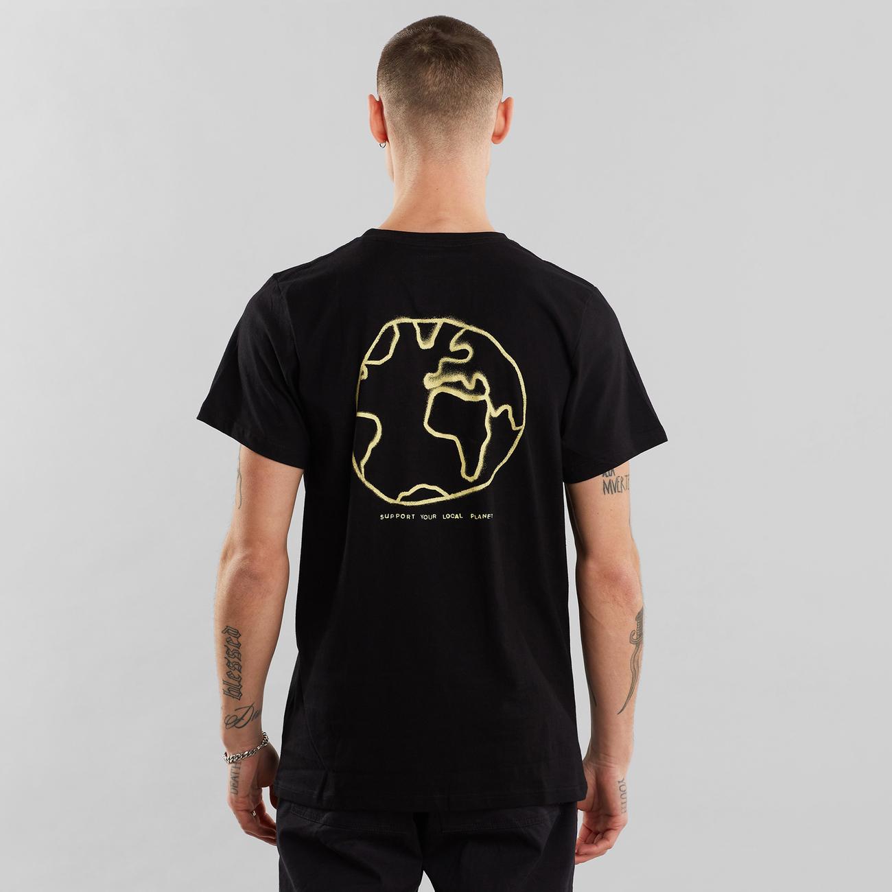 T-shirt Stockholm Atlas Black