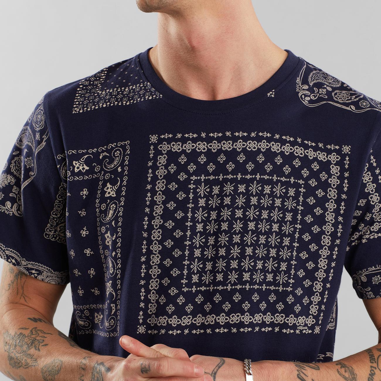 T-shirt Stockholm Bandanas Navy