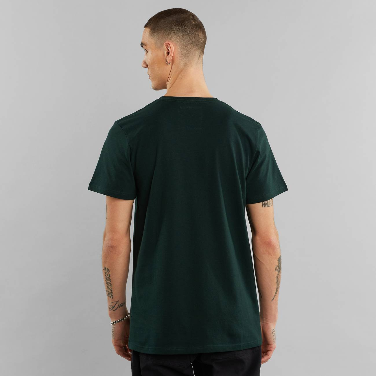 T-shirt Stockholm Double Scarf Dark Green