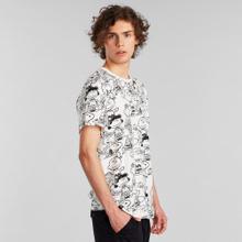 T-shirt Stockholm Peanuts AOP Off-White