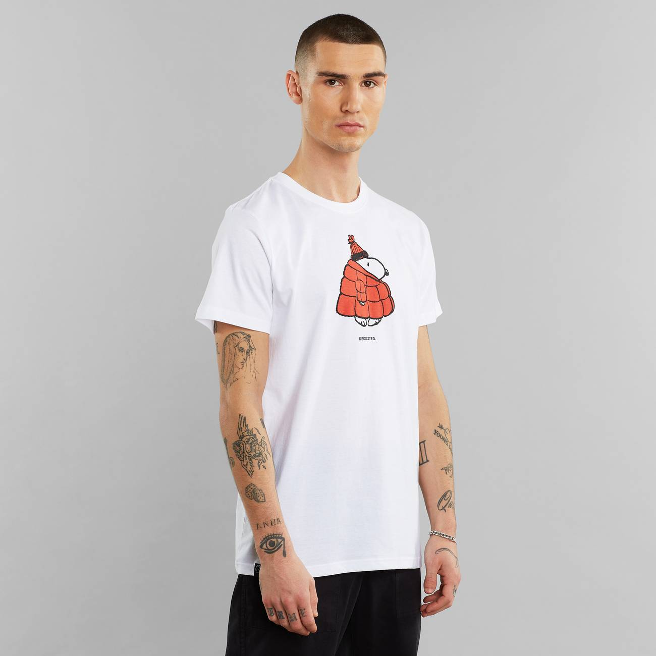 T-shirt Stockholm Snoopy Puffer White