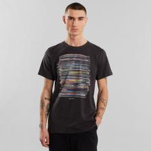 T-shirt Stockholm Vinyl Retro Charcoal