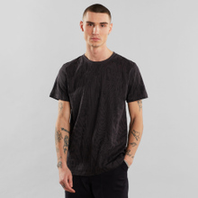 T-shirt Stockholm Wood Cut Charcoal