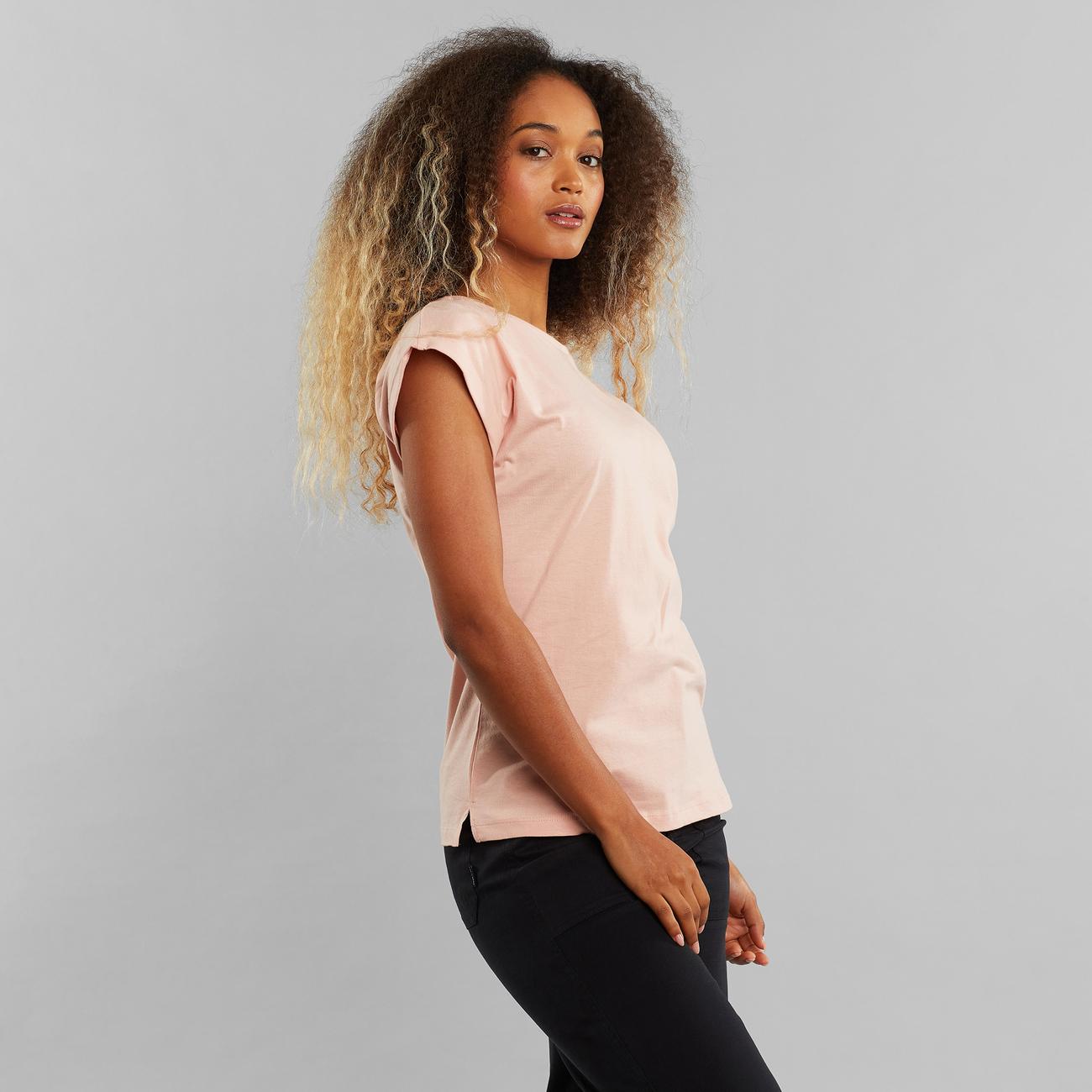 T-shirt Visby Base Silver Pink